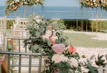 All-white Beach Wedding by The Wedding Bliss Thailand