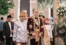 Minang Akad Nikah of Haq & Hilda by  Menara Mandiri by IKK Wedding (ex. Plaza Bapindo)