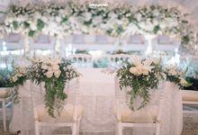 New Normal Akad Wedding of Garin & Hisyam by  Menara Mandiri by IKK Wedding (ex. Plaza Bapindo)