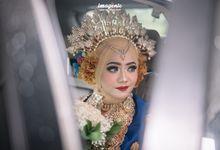 The Wedding of Syifa & Fauzan by andinasyifamakeup