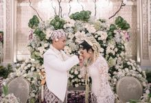 Akad Ceremony of Imam & Mira by  Menara Mandiri by IKK Wedding (ex. Plaza Bapindo)