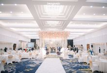 New Normal Minang Modern Decoration 9F by Menara Mandiri by IKK Wedding (ex. Plaza Bapindo)