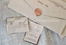 Abednego & Rani by Lotus Fifolifo Invitation