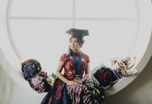 THE GRADUATION OF REVINA PUTRI by natalia soetjipto
