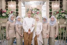 Wedding of Intan & Ryandika by  Menara Mandiri by IKK Wedding (ex. Plaza Bapindo)