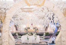 New Normal Minang Wedding Of Febrina & Reza by Menara Mandiri by IKK Wedding (ex. Plaza Bapindo)