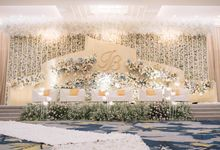 INTERNATIONAL WEDDING OF INDERA & BELLA by  Menara Mandiri by IKK Wedding (ex. Plaza Bapindo)