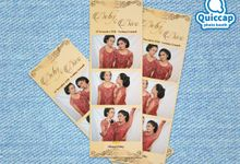 Wedding of Deby & Dico | Kiosk Photo Booth by Quiccap Photo Booth