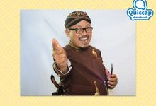 Wedding of Deby & Dico   Kiosk Photo Booth by Quiccap Photobooth
