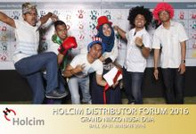 Holcim event by New Picturesque Express Photo Corner / Photobooth