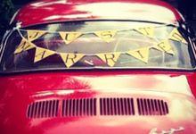 Red Karmann Ghia by Atelir KSS