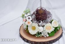 Ring Bearer and Dome Series by Decraft Seserahan