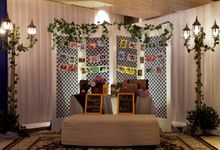 Colonial Luxe by MawarPrada Wedding Decoration