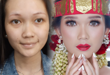Natural Wedding Makeup 2019 by AngeLin Bridal