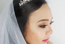Wedding Makeup Models by Brushbynesyaa