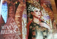 Minang Bride - Garuda Indonesia Inflight Magazines Spread by Beauty by Yusti