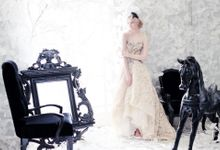 Photoshoot for White Couture by Odette