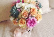 Wedding Bouquet by Twigs and Twine