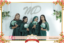 Photobooth 4R wedding by @photobooth_pekanbaru
