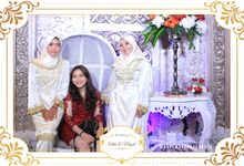 The Wedding of Alda & Megat by NAREMAX Photo Booth