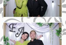 The Wedding of Eva & Aga by NAREMAX Photo Booth