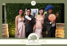Andrew & Meidy Wedding by E'moment studio Photobooth