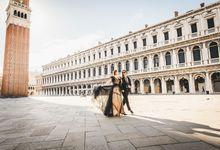 Sunrise Honeymoon Photo Shoot in Venice by CB Photographer Venice