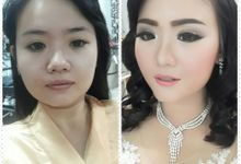 Before After Make Up by THIO PASIFIK BRIDAL AND BOUTIQUE