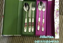 Premium Cutlery Set by Alleriea Wedding Gifts