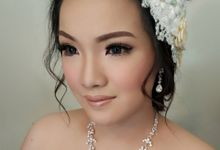 Beatrice (Asian Bride Look) by MarisaFe Bridal