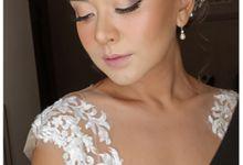 Soft Bride Look by lely murwiki