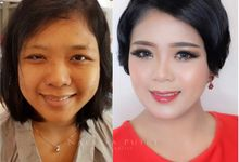 Before And After by Natasya Putri Makeup Artist