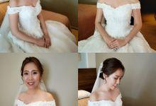 Bride Rachel ❤️ by Shino Makeup & Hairstyling