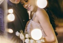 Monica & Denny by MarisaFe Bridal