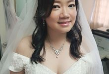 Wedding Day by Angel Chua Lay Keng Makeup and Hair