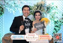 Wedding of M&M by lolphotobooth.co