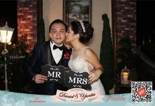 Wedding of D&Y by lolphotobooth.co