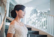 Fitting Wedding Gown - 1 by Mikumo Photography