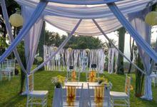 Private Wedding Outdoors Nigge And Dhanisa by Rumah Putih Bogor
