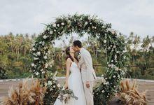 RACHEL & KEVIN WEDDING by Kamandalu Ubud