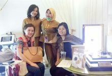 Wedding Fair Event Bridestory, ICe BSD, JAkarta by W3skincare
