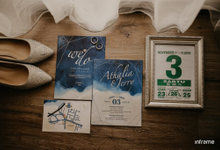Invitation Wedding for Atha & Jerry by pickmeart