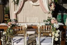 Victorian Garden Theme Wedding by Listoria Floral