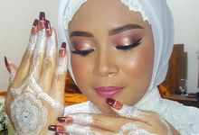 Wedding Ceremony Makeup For Miss Putri by ESTATE