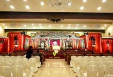 Wedding mandap by V Event Planners