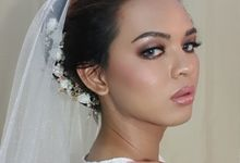 Glam & Smokey Bridal Look by ESTATE