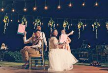 Sabrina & Wisnu Wedding by eMCi Ammho De Monganzen