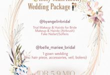 New Normal Wedding Packages by AngeLin Bridal