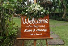 Wedding Koen & Hanny 22 June 2018 by Bali Rental Tiffany