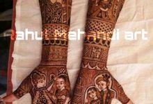 Designer Bridal Mehndi Designs by Rahul Mehandi Art Agra